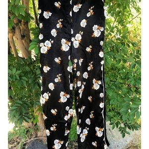 Zara Silky Rose Pants